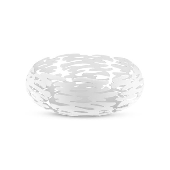 Barknest Round Basket in White