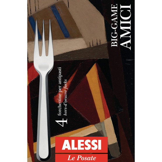 Amici Hors D'Oeuvre Forks, Set of 4