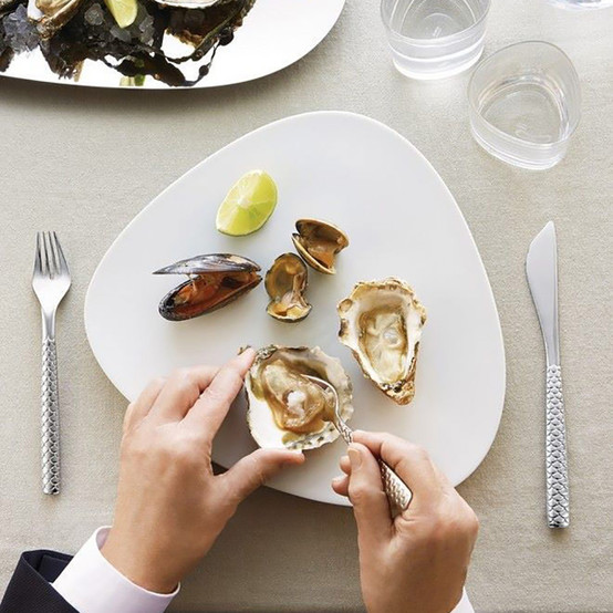Colombina Fish Oyster Fork