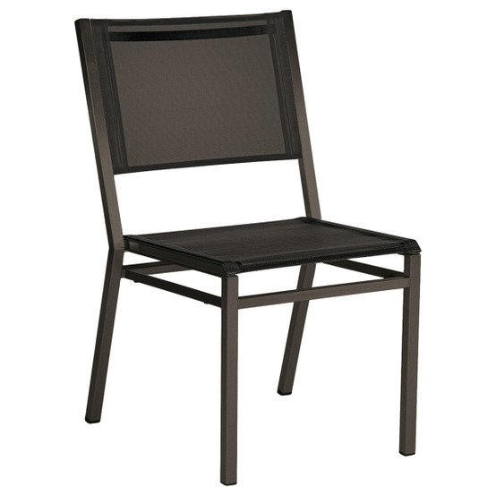Equinox Painted Dining Chair in Graphite