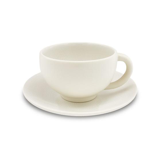Tourron Natural Cup and Saucer