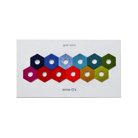 Wine-O's Hexagon Rainbow Mix