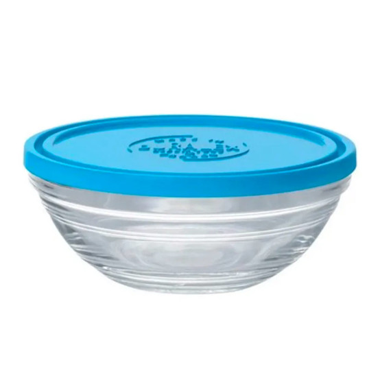 Lys Round Bowl with Lid 10 oz