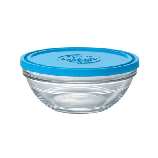 Lys Round Bowl with Lid 1 Qt