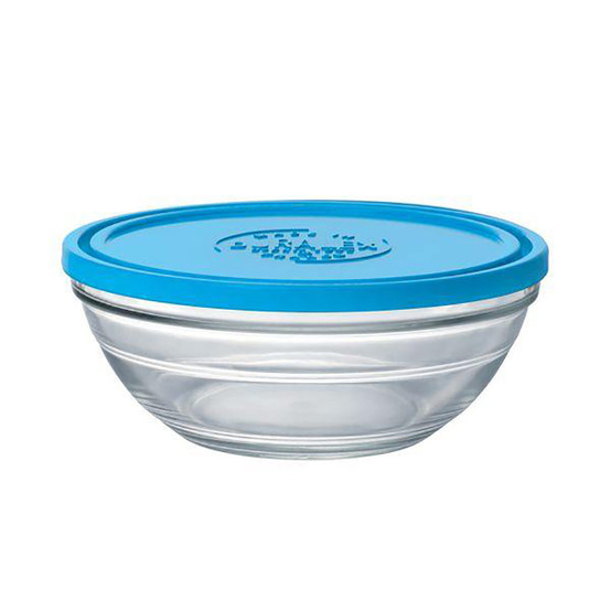 Lys Round Bowl with Lid 1.5 Qt