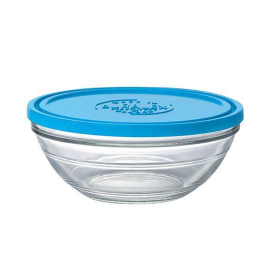 Lys Round Bowl with Lid 2.5 Qt