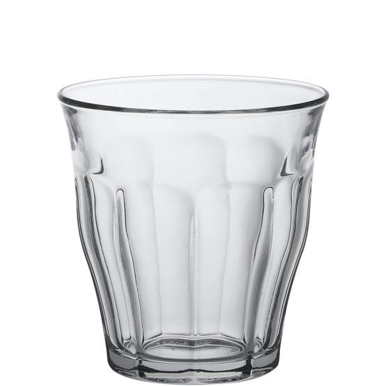 7.75 oz Picardie Clear Tumbler, Set of 6