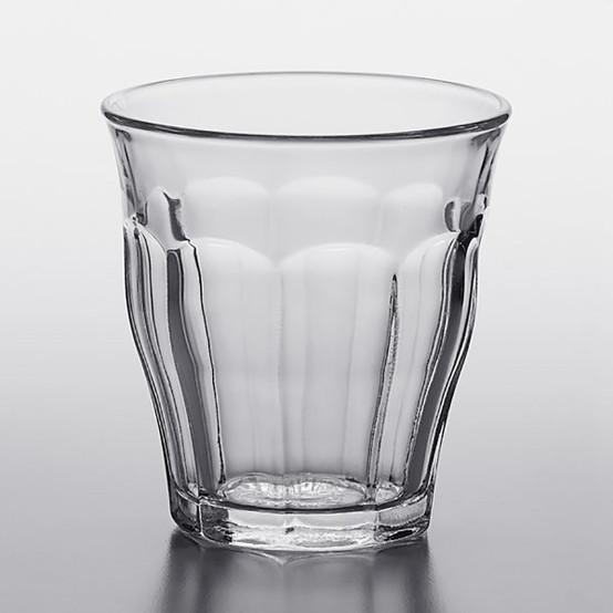 4.5 oz Picardie Clear Tumbler, Set of 6