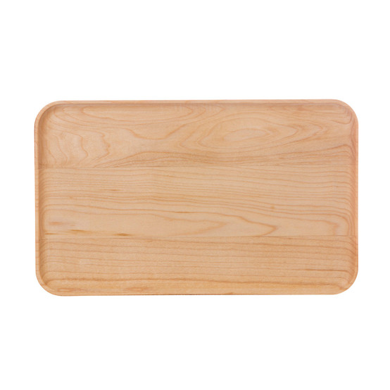 Coupe Appetizer Plate in Maple, 9 inch