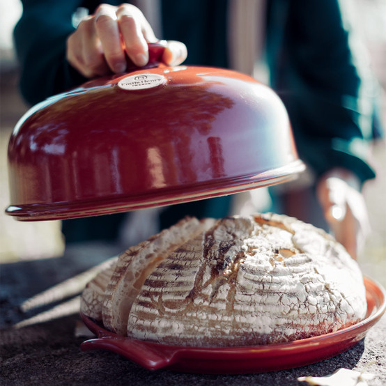 Bread Cloche in Burgundy