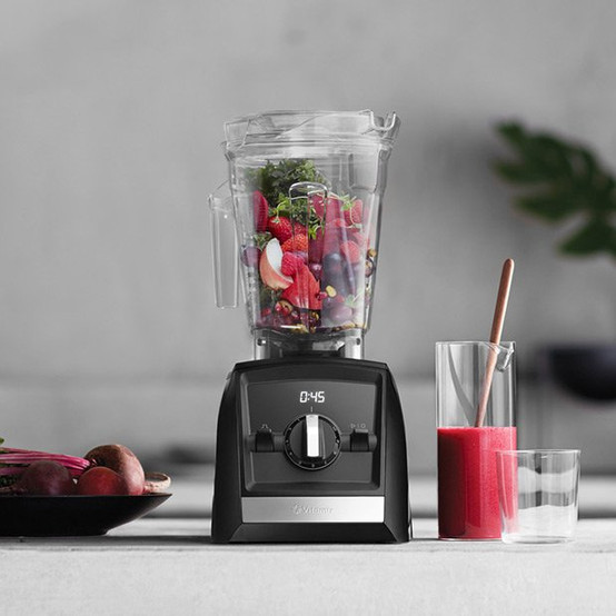 A2300 Ascent Series Blender in Red
