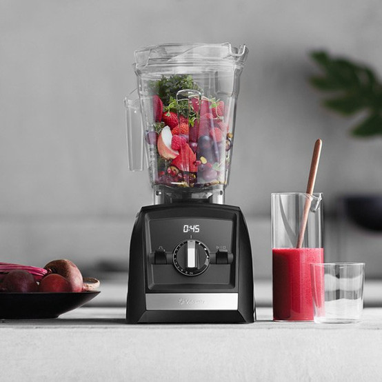A2500 Ascent Series Blender in Red