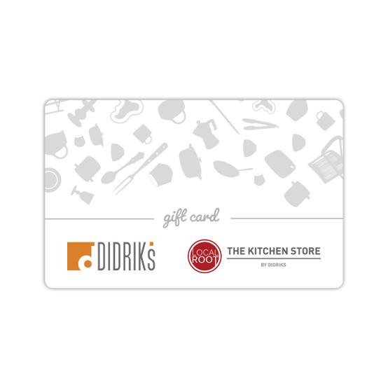 Didriks Gift Card