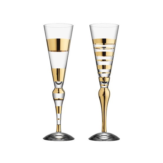 Clown Champagne (gold, 2-pack)