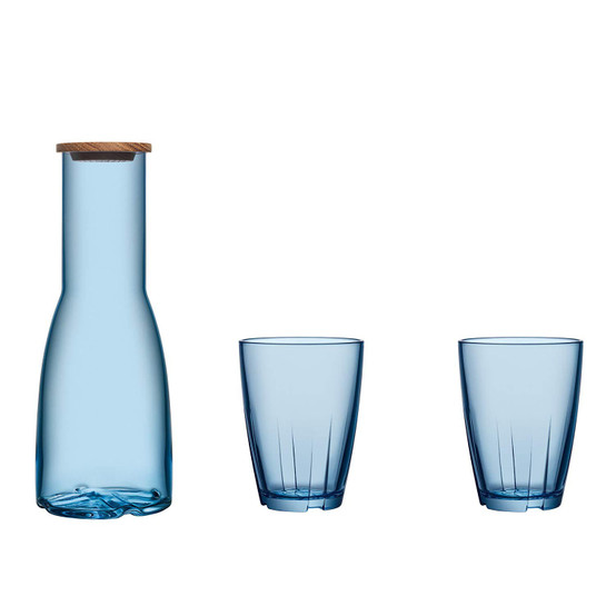 Bruk Carafe Set in Blue