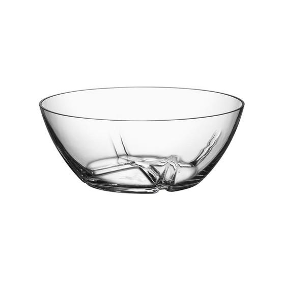 Medium Bruk Serving Bowl in Clear