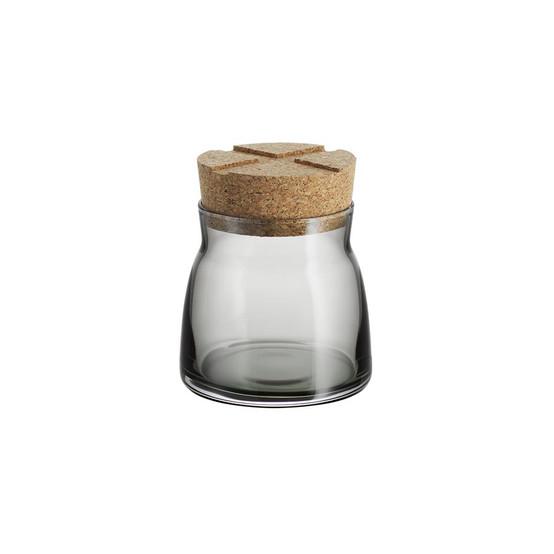 Small Bruk Jar with Cork in Grey