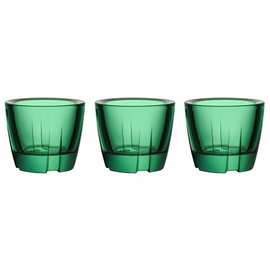 Bruk Votive/Anything Bowl in Forest Green, Set of 3