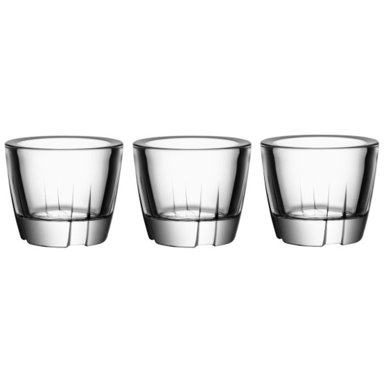 Bruk Votive/Anything Bowl in Clear, Set of 3