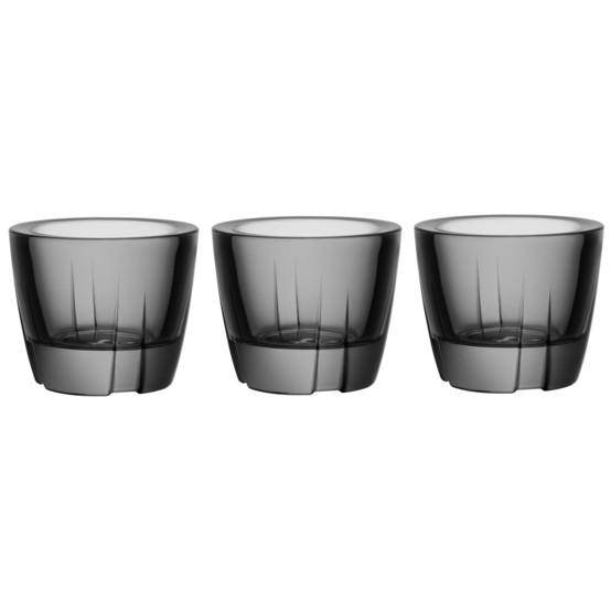 Bruk Votive/Anything Bowl in Grey, Set of 3