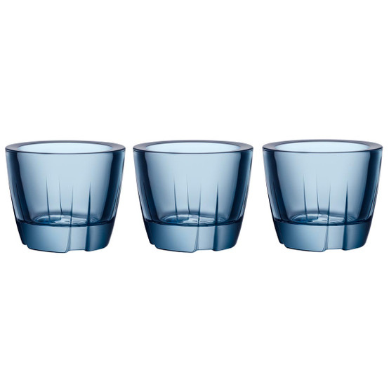 Bruk Votive/Anything Bowl in Water blue, Set of 3