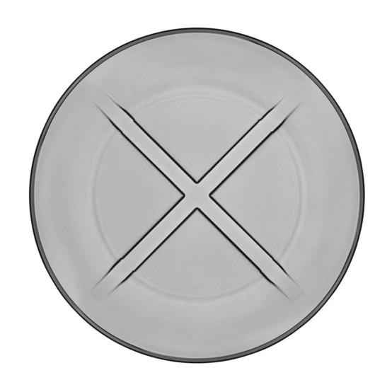 Bruk Salad Plate in Grey