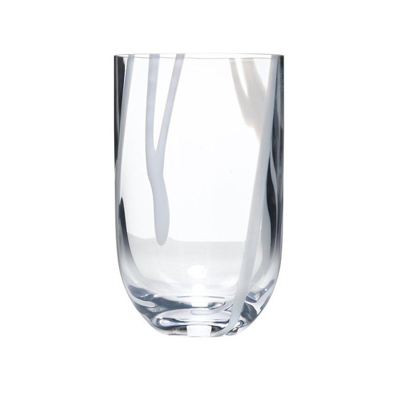 Contrast Tumbler in White