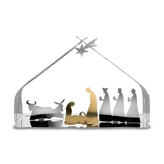 Bark Crib in Silver