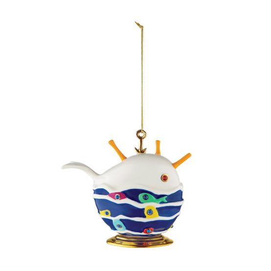 La Balena Buona Holiday Ornament