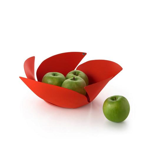 Twist Again Fruit Basket in Red