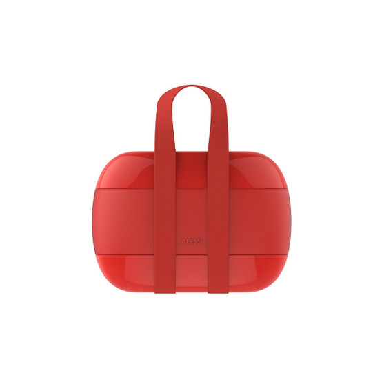 Food A Porter Lunch Box in Red