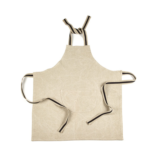 James Apron in Flax