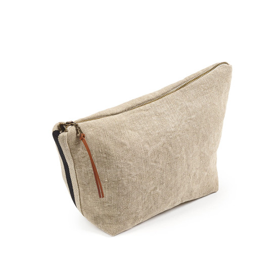 James Cosmetic Bag in Flax
