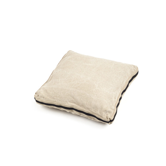 James Pillow Cover in Flax 25 x 25