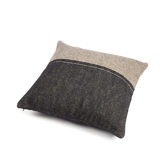 Lewis Pillow Cover in Stripe 25 x 25