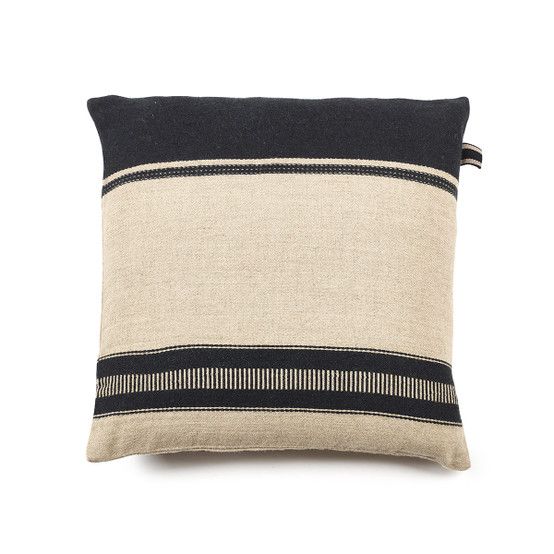 Marshall Pillow Cover in Multi Stripe 25 x 25