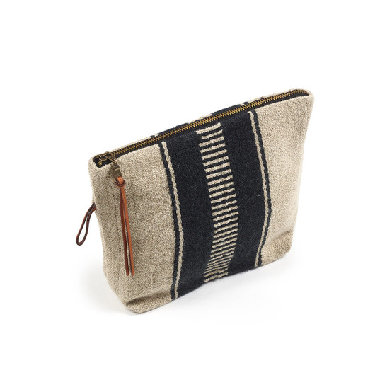 Marshall Pouch in Multi Stripe
