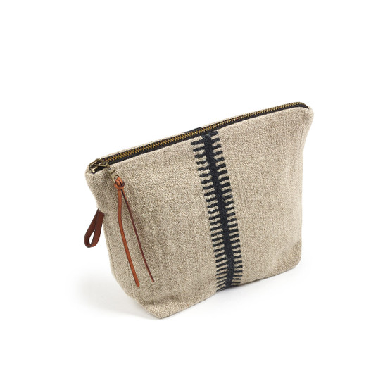 Marshall Pouch in Small Stripe