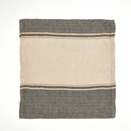 Thompson Napkin in Camel Stripe