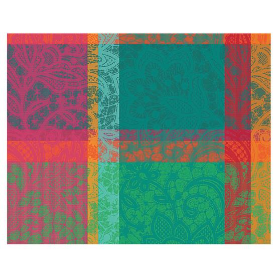 Mille Dentelles Floralies Coated Placemat 16 x 20