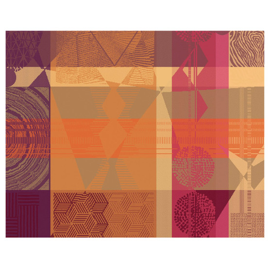 Mille Tingari Placemat in Terre Rouge