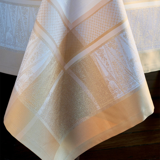 Persina Or Green Sweet Coated Tablecloth