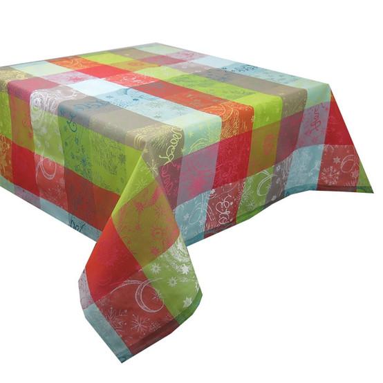 Mille Couleurs Paris Coated Tablecloth