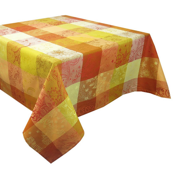 Mille Couleurs Soleil Coated Tablecloth