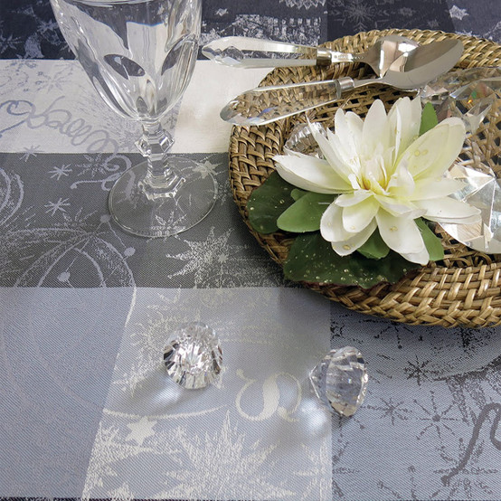 Mille Couleurs Orage Coated Tablecloth