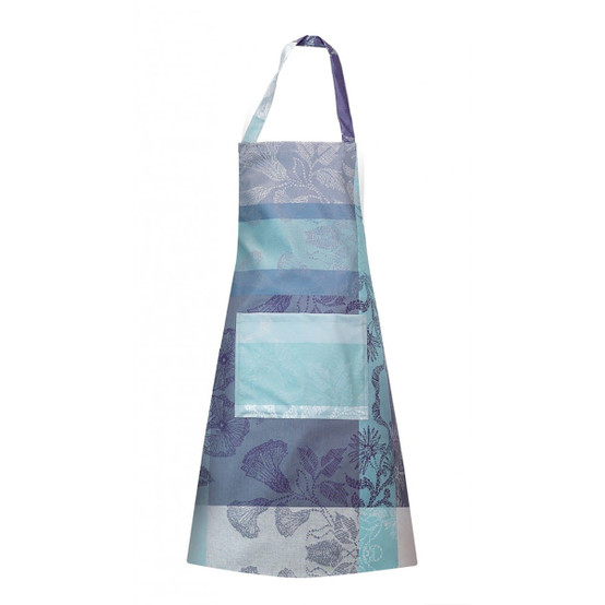 Mille Fiori Coated Apron in Givre