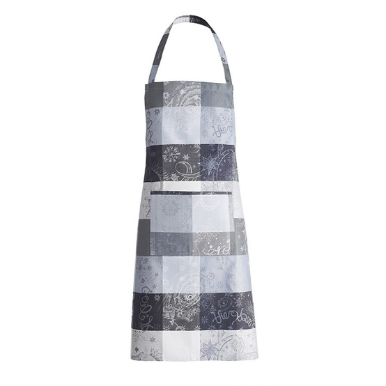Mille Couleurs Coated Apron in Orage