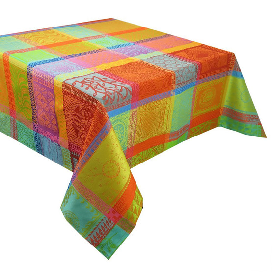 Mille Wax Créole Coated Tablecloth 69 x 69