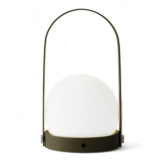Carrie LED Lamp in Olive