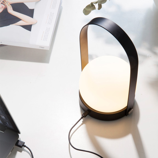 Carrie LED Lamp in White
